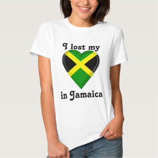 I lost my heart in Jamaica T Shirt