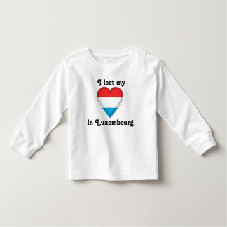 I lost my heart in Luxemburg Toddler T-Shirt