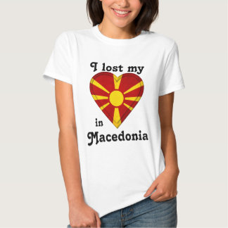 I lost my heart in Macedonia T-shirt
