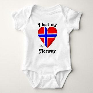 I lost my heart in Norway Baby Bodysuit