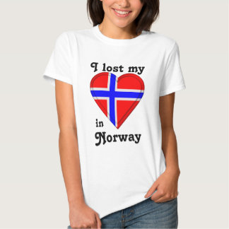 I lost my heart in Norway T-shirts