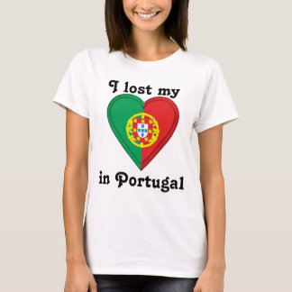 I lost my heart in Portugal T-Shirt