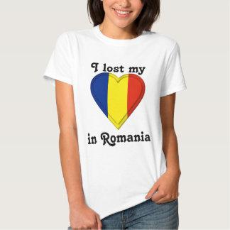 I lost my heart in Romania T Shirt