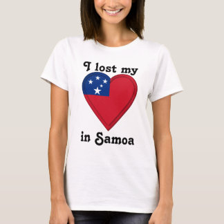 I lost my heart in Samoa T-Shirt