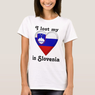 I lost my heart in Slovenia T-Shirt