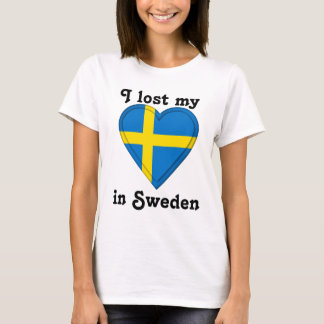 I lost my heart in Sweden T-Shirt