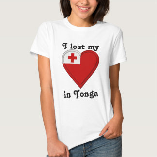 I lost my heart in Tonga Tshirts