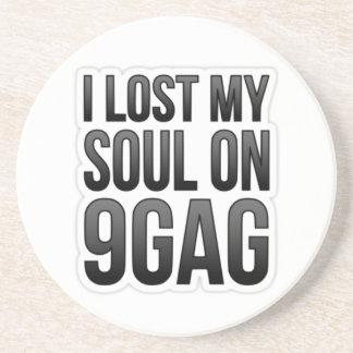 I Lost My Soul on 9GAG - Premium Coaster
