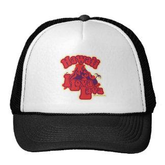 I lova lava in Hawaii Trucker Hats