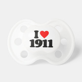 I LOVE 1911 BABY PACIFIER