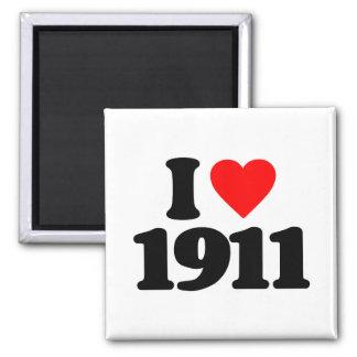 I LOVE 1911 REFRIGERATOR MAGNETS