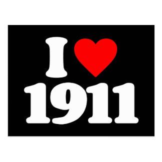 I LOVE 1911 POSTCARDS