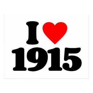 I LOVE 1915 POSTCARDS