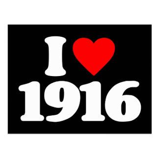 I LOVE 1916 POSTCARDS