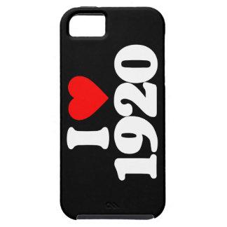 I LOVE 1920 iPhone 5 CASE