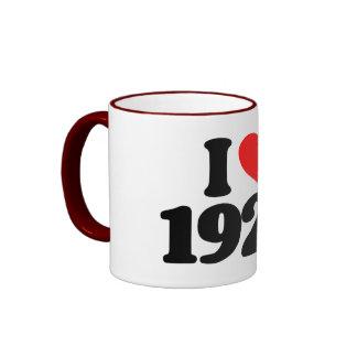 I LOVE 1929 MUG