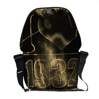 I love 1932 - Lightning vintage - Messenger Bag