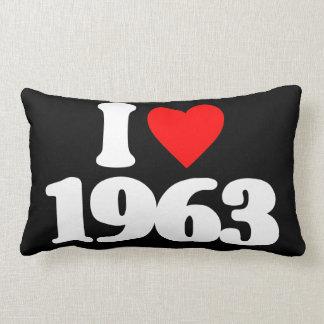I LOVE 1963 PILLOWS