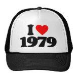 I LOVE 1979 HAT