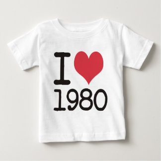 I Love 1980 Products & Designs! Tee Shirts