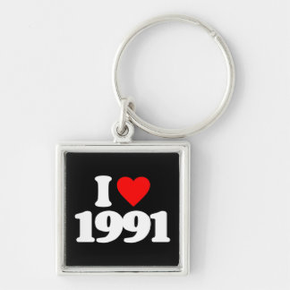 I LOVE 1991 KEYCHAINS