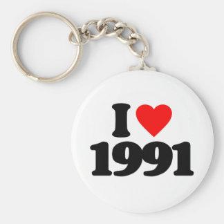 I LOVE 1991 KEY CHAIN