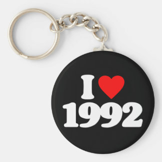 I LOVE 1992 KEY CHAIN