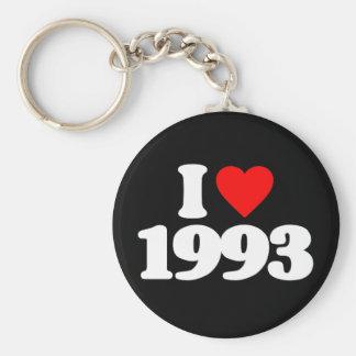 I LOVE 1993 KEY CHAIN