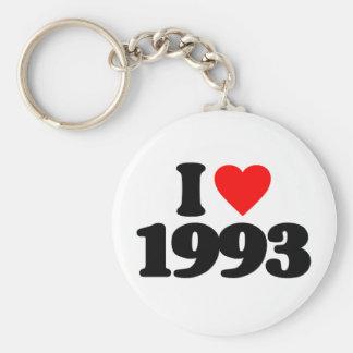 I LOVE 1993 KEYCHAINS