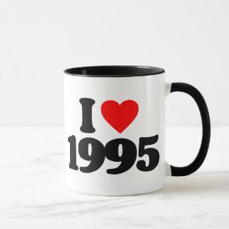 I LOVE 1995 MUG
