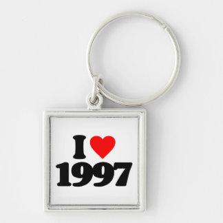 I LOVE 1997 KEYCHAINS