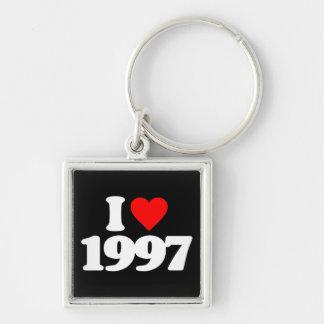 I LOVE 1997 KEYCHAIN