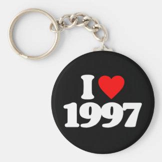 I LOVE 1997 KEY CHAINS