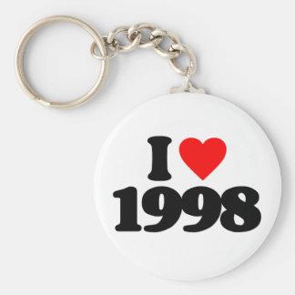 I LOVE 1998 KEY CHAINS