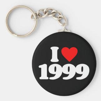 I LOVE 1999 KEYCHAINS