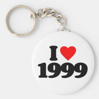 I LOVE 1999 KEY CHAIN
