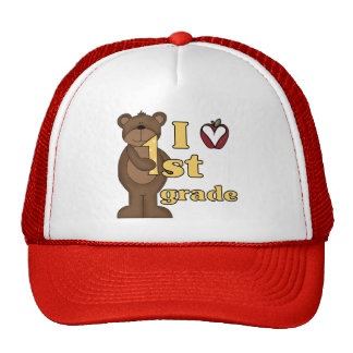 I Love 1st Grade Tshirts and Gifts Cap