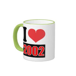 I love 2002 - Mugs