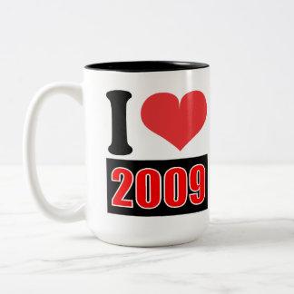 I love 2009 - Mugs