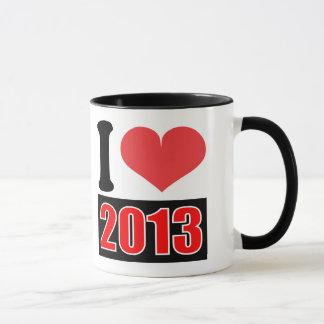 I love 2013 - Mugs