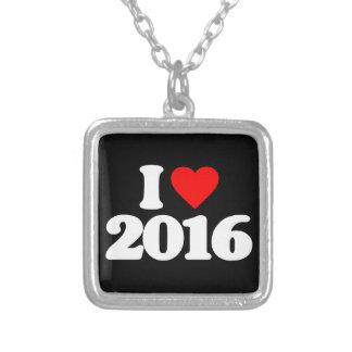 I LOVE 2016 PENDANT
