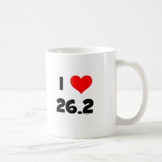 I Love 26.2 Coffee Mug