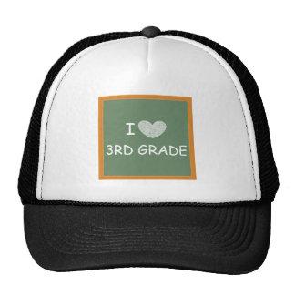 I Love 3rd Grade Cap