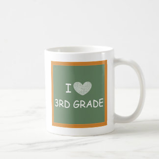 I Love 3rd Grade Coffee Mug