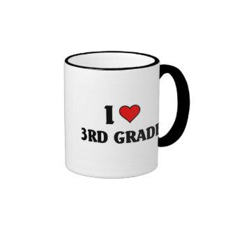 I love 3rd grade ringer mug