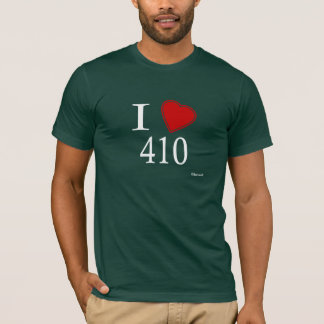 I Love 410 Annapolis T-Shirt