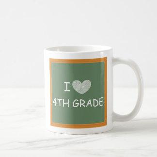 I Love 4th Grade Mug