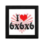 I love 6x6x6 keepsake box