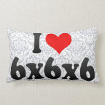I love 6x6x6 pillow