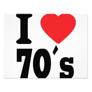 I Love 70 ´s Announcements